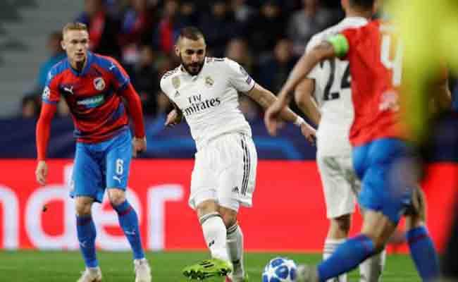 ريال مدريد يستحق بلزن التشيكي