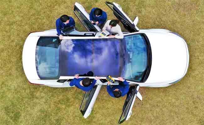 هيونداي وكيا سيسوقان سيارات مع ألواح شمسية بحلول 2019