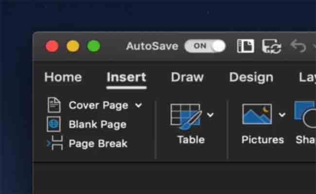 مايكروسوفت أوفيس سيحظى بوضع مظلم على MacOS Mojave