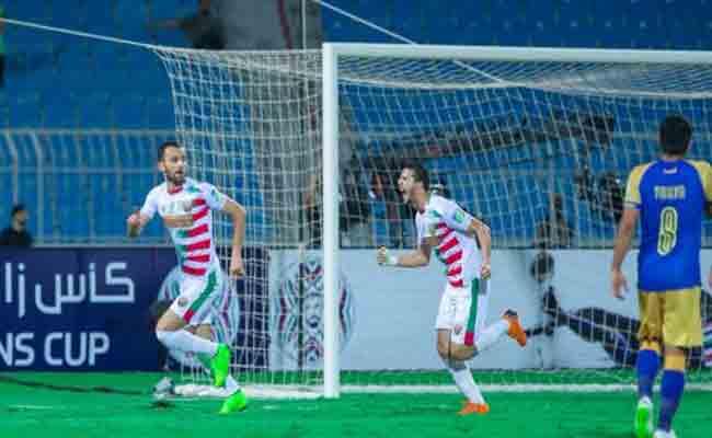 مولودية الجزائر يفوز على النصر السعودي