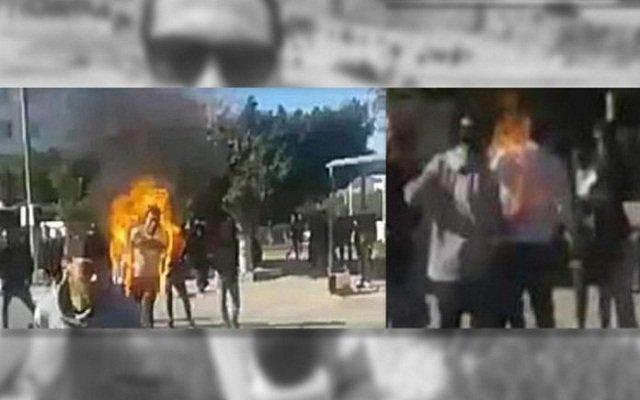 فشل في اعادة سيناريو البوعزيزي في تونس