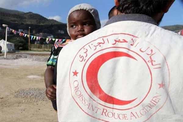 نجاح الهلال الأحمر الجزائري بوهران في لم شمل عدة اشخاص بذويهم خلال 2018