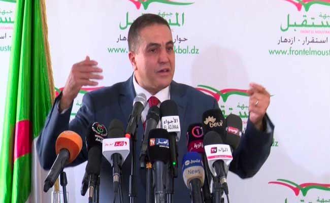 بلعيد : هدف جبهة المستقبل