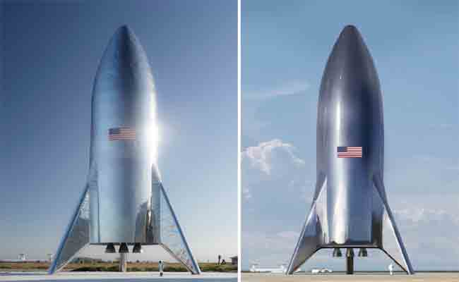 ايلون موسك انتهى من تجميع سفينته Spaceship