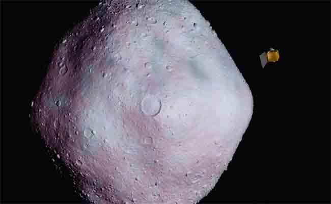 المسبار أوزوريس ريكس يرسل صور للكويكب بينو