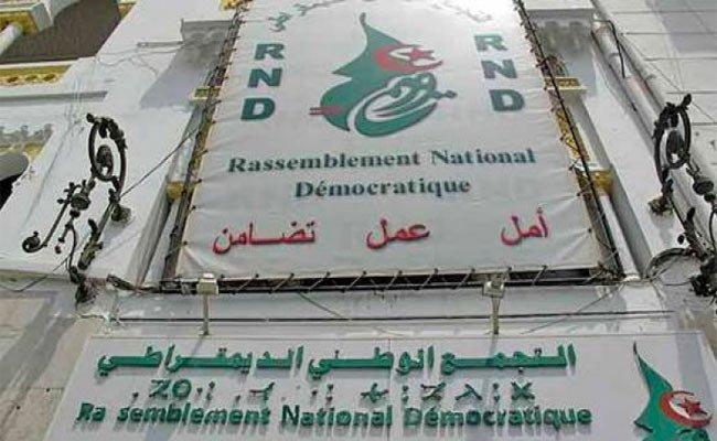 علي جرباع رئيسا لكتلة الأرندي بمجلس الأمة خلفا لعبد المجيد  بوزريبة
