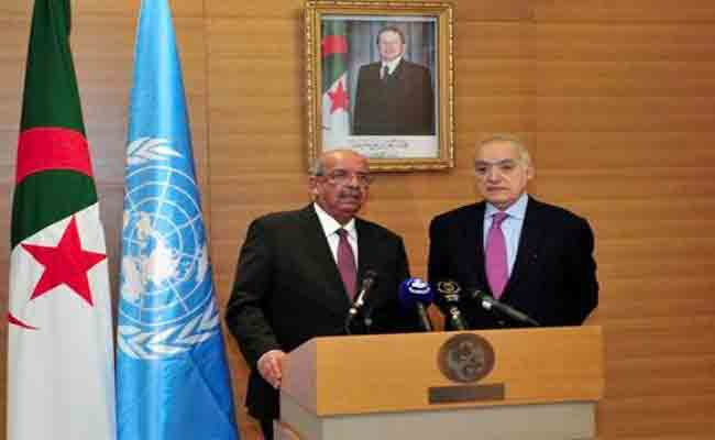 مساهل يستقبل رئيس البعثة الأممية للدعم  في ليبيا