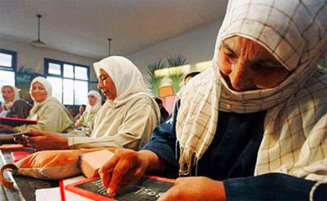 نسبة الأمية بالجزائر تنخفض  إلى 44ر9 بالمائة