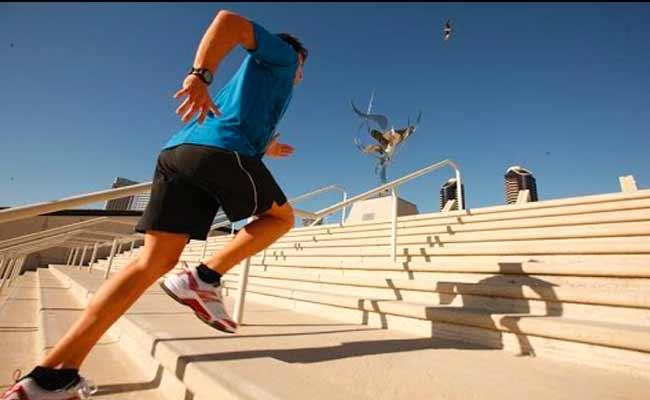 صعود السلالم... إحصلوا على اللياقة أينما كنتم!