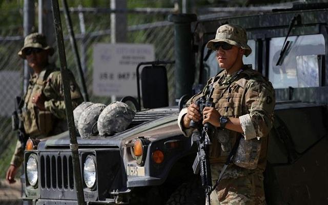 في تحد لترامب ولاية كاليفورنيا تسحب القوات من على الحدود مع المكسيك