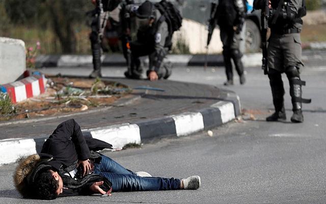 استشهاد فلسطينيين بغزة