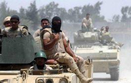 الجيش المصري يقتل ثمانية