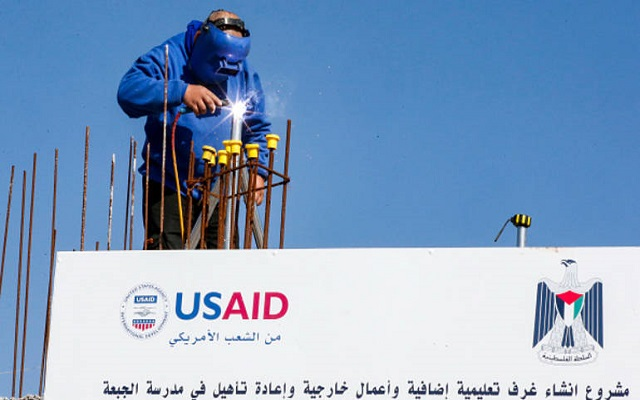 أمريكا أوقفت جميع مساعداتها للفلسطينيين