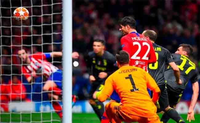 أتلتيكو مدريد يفوز على يوفنتوس