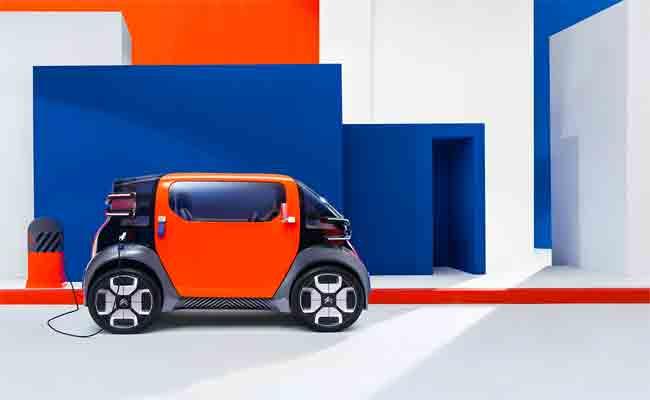 سيارة كهربائية من Citroën سوف تأخذ مكان الدراجات البخارية