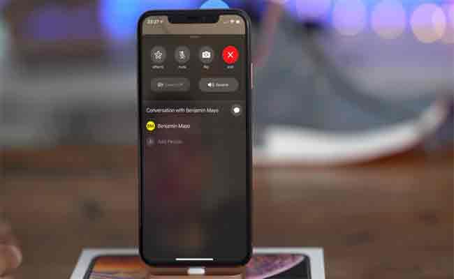 خطأ برمجي على فيس تام يسمح من سماع ورؤية أحد اتصالاتك عند إجراء مكالمة حتى قبل أن يرد