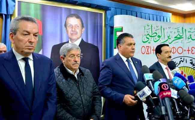 إعلان أحزاب التحالف الرئاسي ترشيح عبد العزيز بوتفليقة للانتخابات الرئاسية