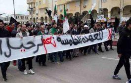 خروج المئات للشارع تعبيرا عن مطالب سياسية و الأمن يوقف 41 شخصا