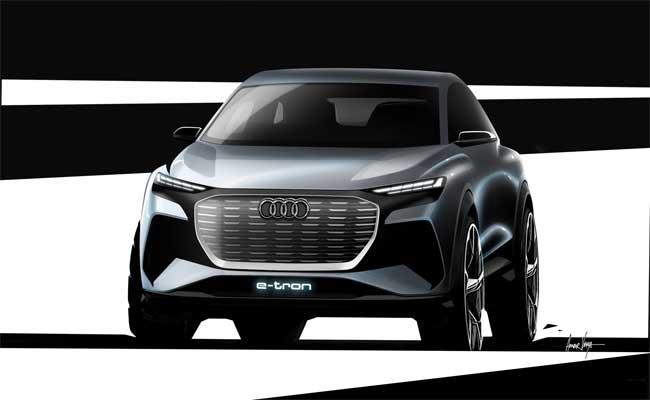 اودي ستكشف قريبا عن سيارتها الجديدة Q4 E-tron