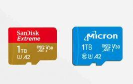 ويسترن ديجيتال وميكرون تطلقان أول بطاقات ميكرو إس دي بسعة 1 تيرابايت
