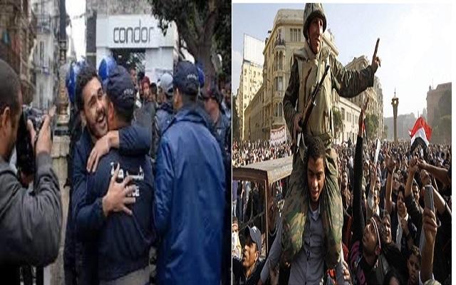 لا اعرف لماذا المظاهرات في الجزائر تذكرني بفيلم مصري أنتج سنة 2013