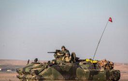 الجيش التركي يقصف مواقع للقوات الكردية بعد مقتل احد جنوده