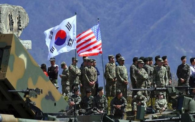 كوريا الشمالية تتهم أمريكا و الكورية الجنوبية بالغدر