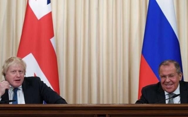روسيا تتحرش ببريطانيا