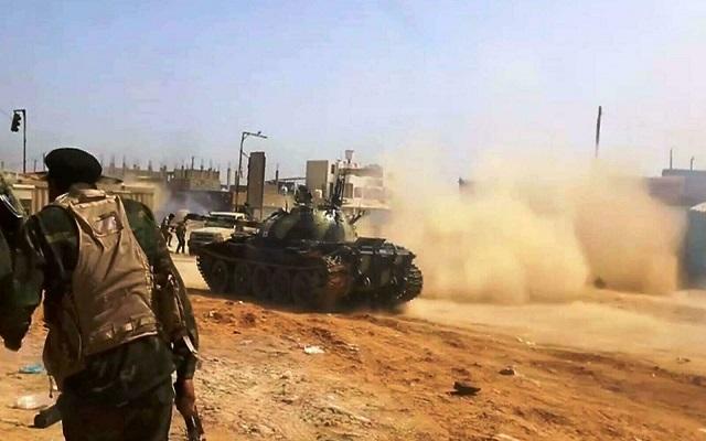 المعركة الفاصلة على أبواب طرابلس