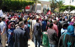 انفجار الإحتجاجات في مهد الثورة التونسية