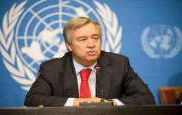 الأمين العام للأمم المتحدة يأمل في