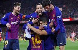 برشلونة يتوج بلقب  الليغا