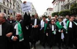المحامون يدعمون الحراك الشعبي بمقاطعة جلسات المحاكمات