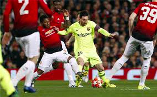 برشلونة يفوز على اليونايتد