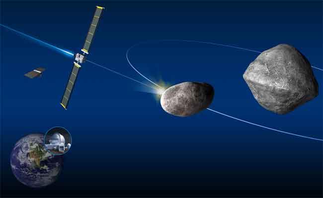 ناسا و سبايس إكس سوف يحاولان تحريف كويكب عن مساره