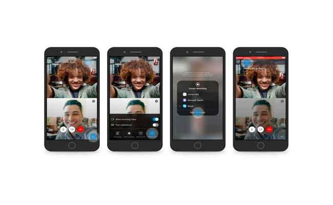 مشاركة الشاشة عبر سكايب على iOS و أندرويد الآن ممكن