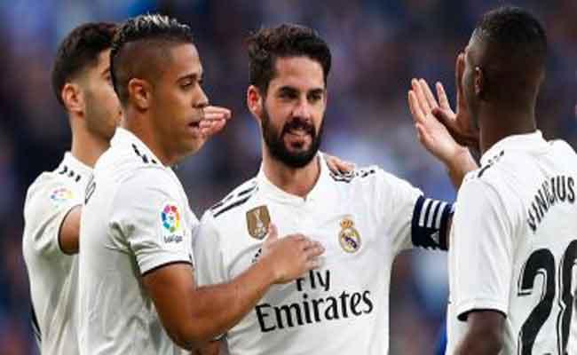 ريال مدريد يفوز  على هويسكا