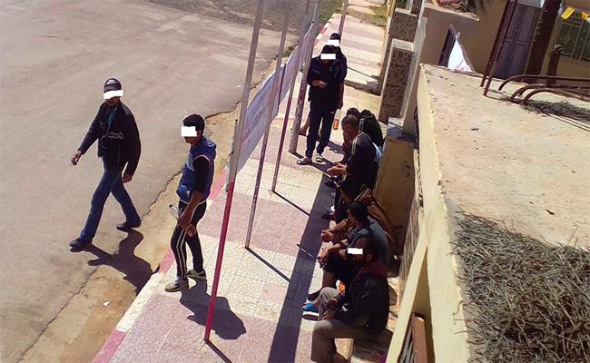الشاب الذي حاول الانتحار حرقا احتجاجا أمام مقر بلدية سيدي لزرق يفارق الحياة