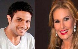 يسرا تلتقي بالممثل أسر ياسين في