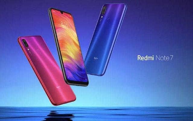 شاومي تطلق هاتف Redmi Note 7S