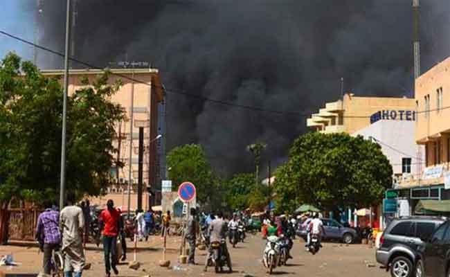 إدانة جزائرية للهجوم الإرهابي الذي استهدف كنيسة شمال بوركينافاسو
