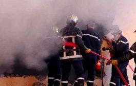 نشوب حريق داخل شقة بحي بلبيض بالجلفة يخلف أضرارا مادية