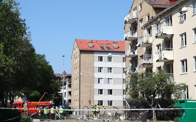 انفجار يهز بلدة في جنوب السويد