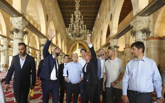 إسرائيل تستدعي سفير تشيلي وتوبخه على إثر زيارة رئيس بلاده للأقصى