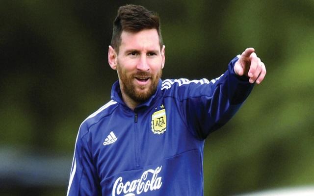 ميسي الأرجنتين غير مرشحة للفوز باللقب...