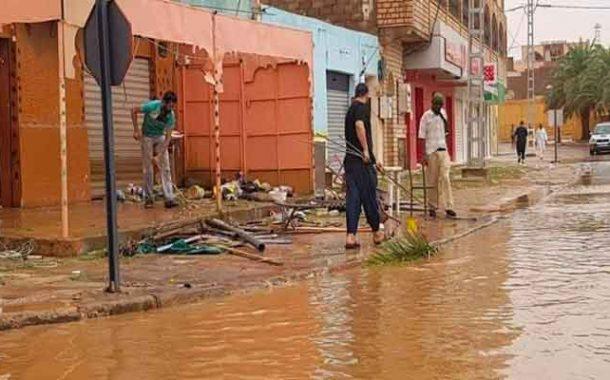 الحكومة تتحرك لتعويض المتضررين في فيضانات اليزي