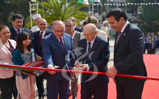 تدشين بن صالح للطبعة الـ52 لمعرض الجزائر الدولي