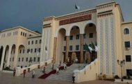 براهمي يشرف على مراسم تنصيب عبد الرشيد طبي رئيسا أولا للمحكمة العليا