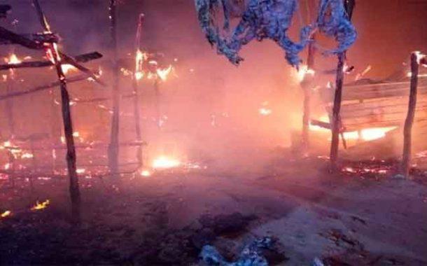 تسجيل خسائر معتبرة على إثر نشوب حريق بسوق الخضر والفواكه بغليزان