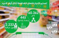 تسخير أكثر من 60 ألف تاجر المداومة خلال عيد الفطر